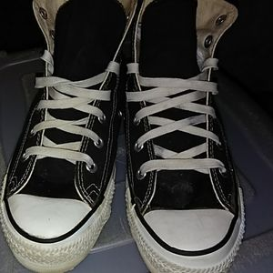 All-Star Converse Black Chuck Taylor's Size 6